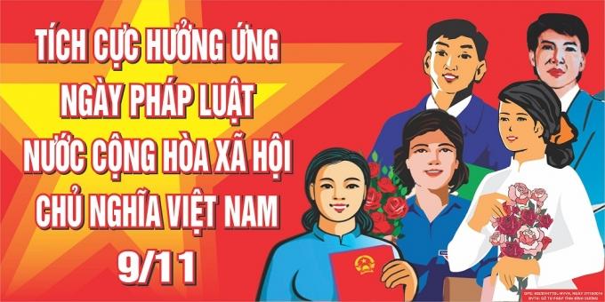 """Tổ chức thực hiện """"Ngày Pháp luật của nước Công hòa xã hội chủ nghĩa Việt Nam"""" năm 2016"""