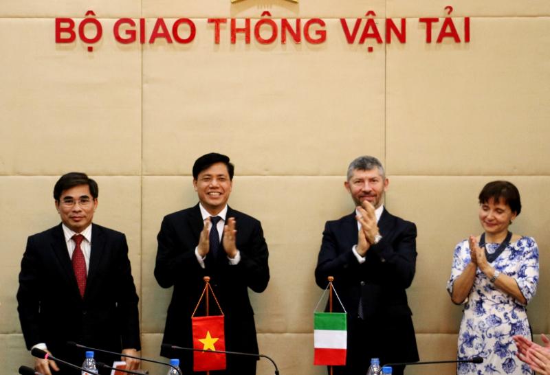 Italia quan tâm hợp tác đầu tư hạ tầng giao thông Việt Nam