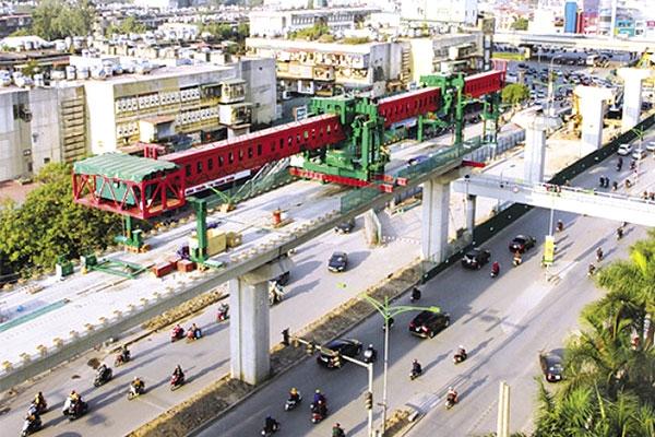 Hà Nội: Đẩy nhanh tiến độ xây dựng các tuyến đường sắt đô thị