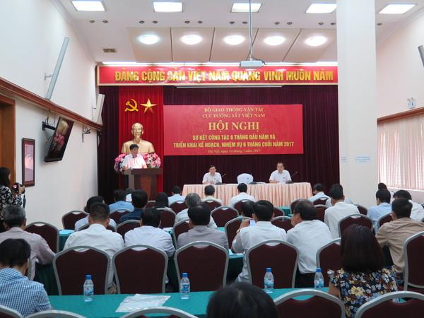 Cục Đường sắt Việt Nam triển khai nhiệm vụ trọng tâm 6 tháng cuối năm 2017