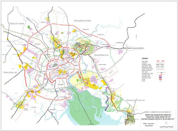 Phê duyệt Quy hoạch chi tiết đường sắt khu vực đầu mối Thành phố Hồ Chí Minh