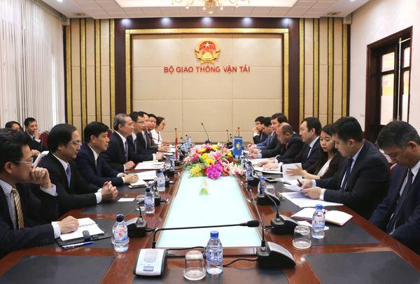 Tăng cường hơn nữa hợp tác trong lĩnh vực đường sắt giữa Việt Nam và Kazakhstan