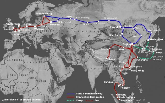 Tạo điều kiện thuận lợi phát triển mạng đường sắt xuyên Á