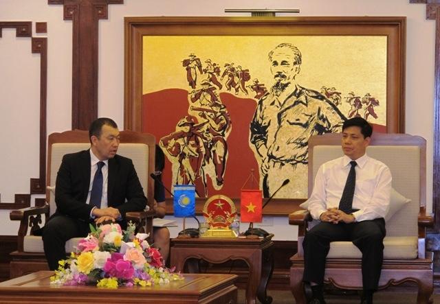 Kết nối vận tải đường sắt Việt Nam - Kazakhstan