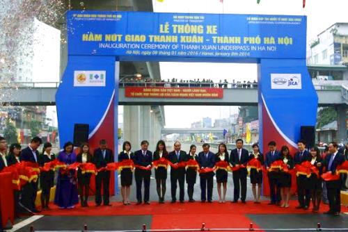 Chính thức thông xe hai nút giao quan trọng tại Thủ đô Hà Nội