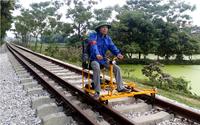 xe tuan duong giai phong doi chan cong nhan duong sat - cuc duong sat viet nam vietnam railway authority