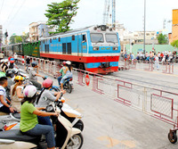 ra soat cac diem giao cat giua duong bo va duong sat - cuc duong sat viet nam vietnam railway authority