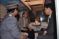 Bộ trưởng Trương Quang Nghĩa thị sát đường sắt Hà Nội - Vinh