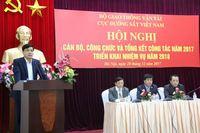 Hội nghị cán bộ, công chức và tổng kết công tác năm 2017, triển khai nhiệm vụ năm 2018 của Cục Đường sắt Việt Nam