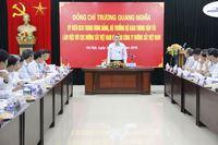 Bộ trưởng Trương Quang Nghĩa làm việc với Cục ĐSVN và Tổng công ty ĐSVN