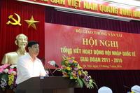 bo gtvt tong ket hoat dong hop tac quoc te trong linh vuc gtvt giai doan 2011 2015 va ke hoach giai doan 2016 2020 - cuc duong sat viet nam vietnam railway authority